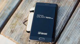 Samsung Galaxy Note 8 in Europa