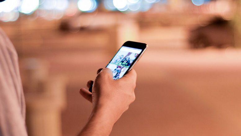 smartphone uso